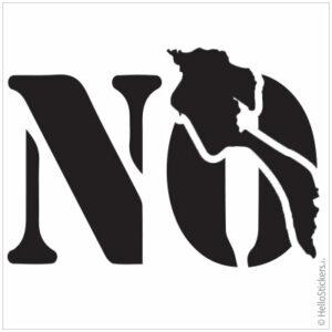 stickers autocollants ile de Noirmoutier NO en Vendée Noir