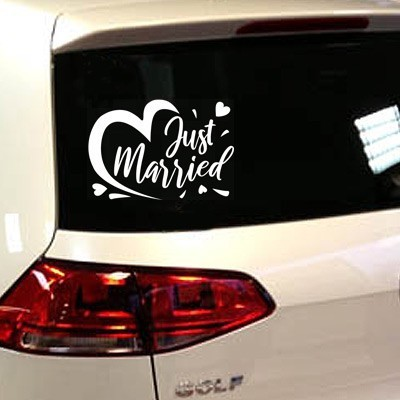 Stickers mariage Just Married