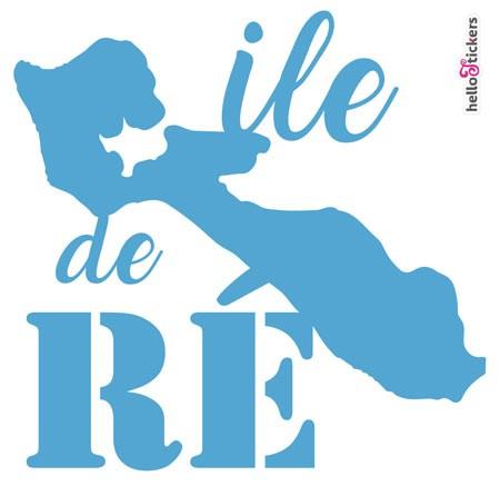 Stickers Ile de Ré en Charente Maritime