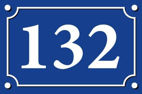 080119 sticker numéro de rue personnalisé autocollant adhésif pour porte boîtes au lettres poubelles