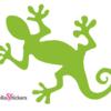Sticker autocollant salamandre adhésif déco pour voiture ordinateur pc mac casque moto