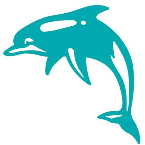 Sticker autocollant dauphin