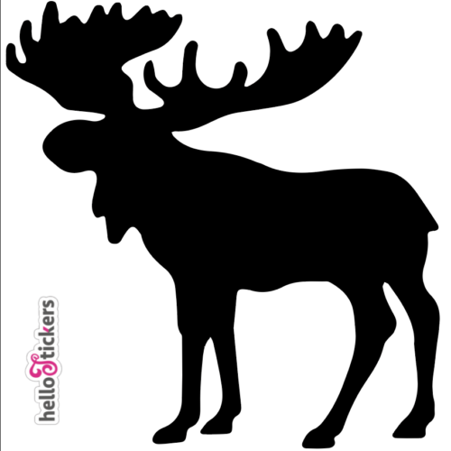 Sticker autocollant élan cerf Canada