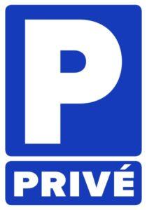 Stickers autocollants parking privé interdit défense de stationner