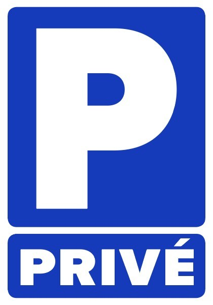 Stickers autocollants parking privé interdit défense de stationner