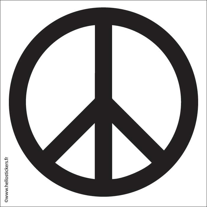 150620_sticker_autocollant_paix_peace_sigle_symbole pour mac pc ordinateurs