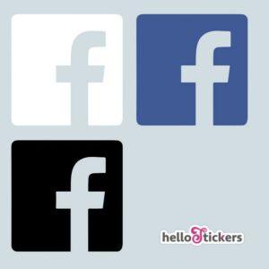 autocollant_facebook_reseaux_sociaux_sticker à coller sur la vitrine de votre boutique, vitrine ou sur votre comptoir