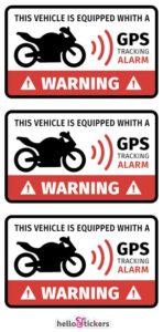 Stickers-autocollants-alarme-pour-motos-ou-scooter-GPS-tracking-Alarm