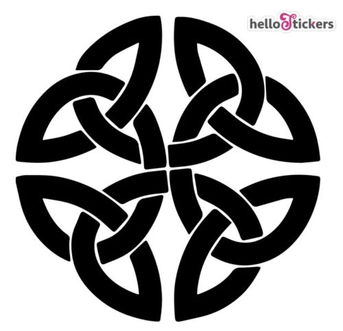 Sticker autocollant symboles celtiques Bretagne
