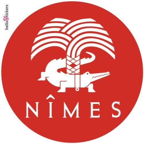 sticker Nimes feria de Nîmes tourisme autocollant