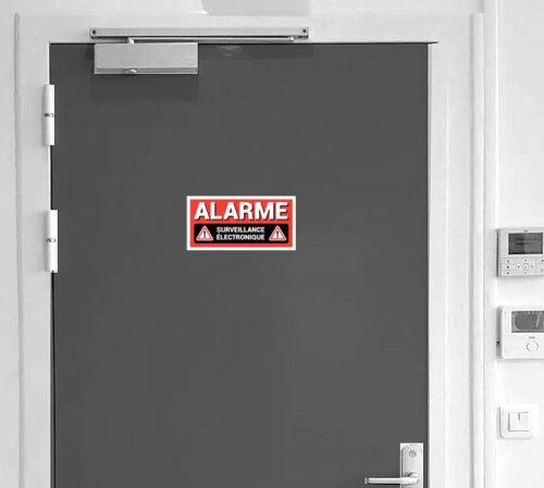 Sticker alarme surveillance électronique pour la maison les entreprises et les entrepôts