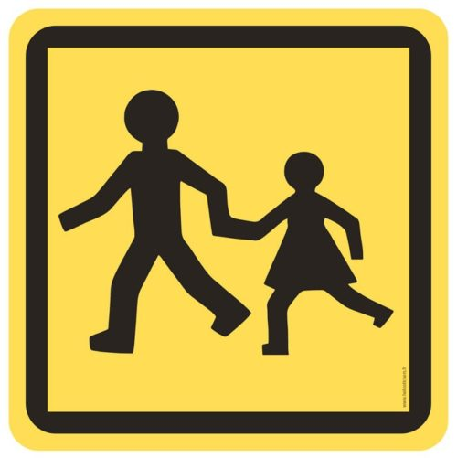 sticker transport enfant autocollant voiture bus car transport enfant école – ref.251020