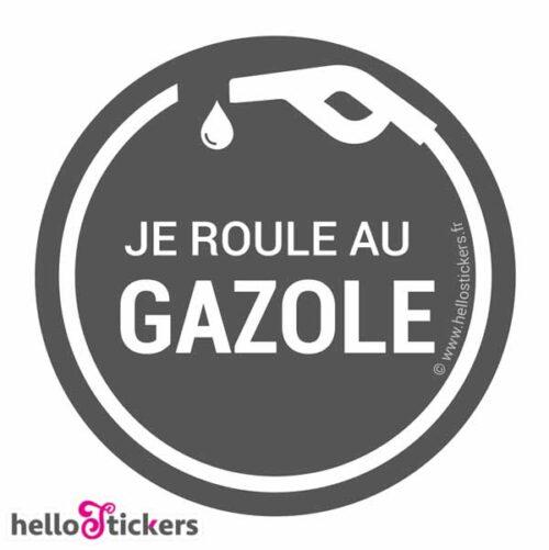 Autocollant gazole stickers pour réservoirs – ref 250521