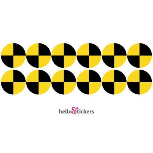 sticker autocollant -crash-test-planche-12-stickers - ref 140721
